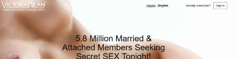 Victoria Milan seksitreffit